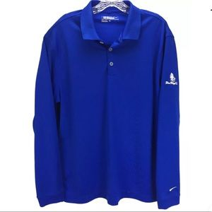 Nike Golf Tour Dry Fit Polo Shirt Size Large oo18